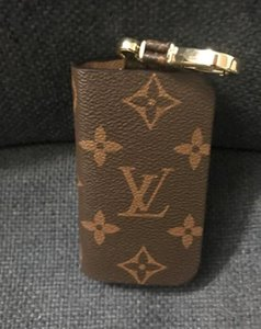 Weinlese-Auto-Schlüssel-Halter-Mann-PU-Leder Haushälterin Doppeltasche mit Reißverschluss Schlüsseletui Tasche Herren Kette Geldbörse