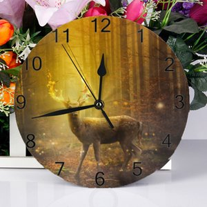 10inch Wall Decor Clocks Animal Numeral Digital Dial Mute No Ticking Sound Battery Operated Clocks for Children's Bedroom