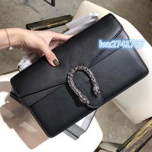 Серийный номер внутри! Классический стиль сумка женщины плечо мешок лоскут превосходное качество натуральной кожи мешок способа с коробкой