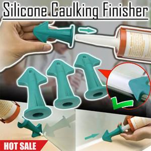 Grattoir 3 en 1 Outil de finition en silicone calfeutrage Buse de remplissage spatules Spreader Outil scraper Automobiles Moto