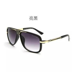 2019 nuevas gafas de sol de 5 colores gafas de sol polarizadas para hombre gafas de visión nocturna de metal