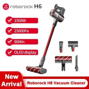 Roborock H6 Handheld Aspirateur 150AW aspiration 25000pa OLED 90min Batterie sans fil Cyclone Filtre Aspirateur