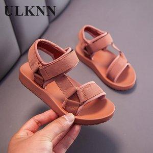 ULKNN Boys Sandalet Çocuk Sandalet Çocuk Ayakkabı Lastik Okul Ayakkabı Nefes Açık Burun Casual Boy Sandal