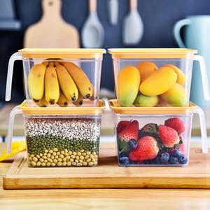 Food Storage Box Nordic Stil Sealed Frische-Speicher-Fall-Behälter für Küche Kühlschrank Ei