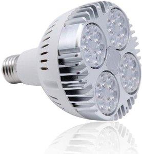 PAR30 35W LED Bulb White 6000K 2800lm E27 Base25 Degree Beam Angle Track Spotlight with Fan