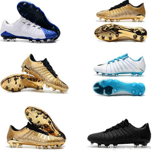 Top 2019 en ligne Hypervenom Phantom III DF FG 3D en plein air Crampons Football Formateurs Hommes Chaussures de football Chaussures de soccer 39-45