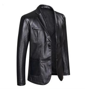 Casual monopetto Abbigliamento Coats giacca designer PU Leather Jackets 5XL 6XL Plus Size Mens Big