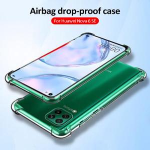 Airbag Dropproof Fall für Huawei P40 Pro P40 Lite Nova 7i 6 6 Se-Silikon-weiche TPU-Schutzhülle für Huawei Honor V30 V30 Pro
