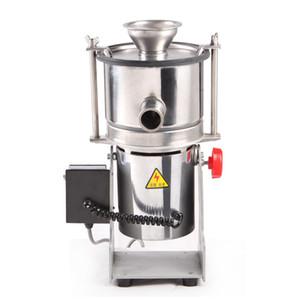 NUOVO ARRIVEL grano Grinder in acciaio inox di flusso elettrico Mill ultra-fine alimentazione continua Grinder Crusher Polvere fresatrice