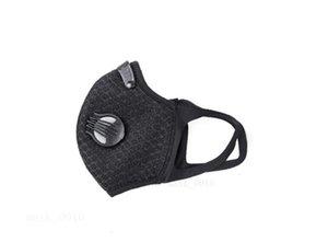 Valvola di uscita non con tessuto verticale faccia esterna Maschera respiro del bambino pieghevole 2020 antipolvere Bocca Mask PM2.5 QA