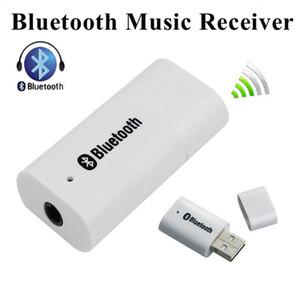 USB 범용 3.5 미리 메터 스트리밍 자동차 A2DP 무선 블루투스 AUX 오디오 음악 수신기 어댑터 핸즈프리 전화 MP3