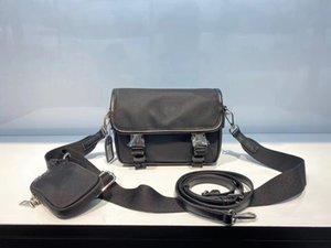 Nueva bolsa de cuero de lujo de bolsos de la moda bolsa de mensajero del Cruz-cuerpo del bolso a prueba de agua bolsa de nylon para las mujeres para hombre