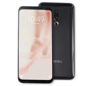 "Original Meizu 16 Plus 4G LTE teléfono celular 8 GB de RAM 128 GB 256 GB ROM Snapdragon 845 Octa Core Android Teléfono 20MP Face ID Mobile 6.5"" de pantalla completa"