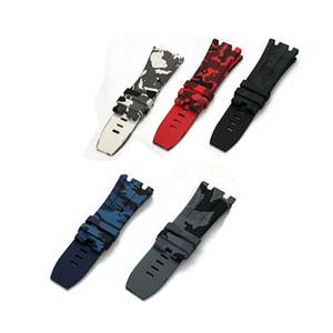 orologio di qualità High End migliore cinghia per Watch cinghia del silicone naturale camuffamento AIPP Royal Oak Offshore Serie gomma impermeabile cinghia Gospe