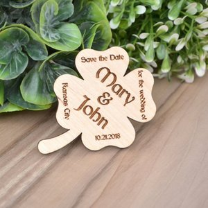 Imanes de madera - Fridg Wedding MAGNETS SAVE the DATE Save the Date Rustic - Custom