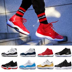 Sconto Space Jam 11 Win Come 96 palestra rosso 11s Midnight Navy 11 scarpe da basket all'ingrosso Sport Sneakers