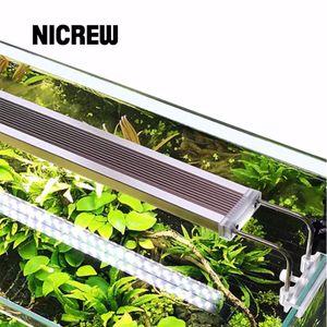 Nicrew 220V 12W 14W 18W 24W SunSun ADE Aquarienpflanzen SMD LED-Beleuchtung Chihiros Aluminiumlegierung Beleuchtung für Fish Tank Aquatic