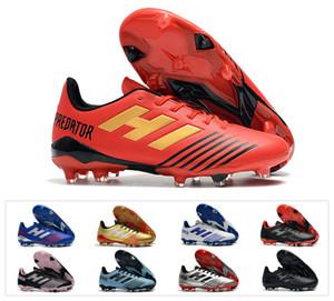 2019 nuevo depredador 19.4 fg tango 19 traje frío FG de fútbol botas de fútbol para hombre 19.1 zapatos de fútbol tamaño barato 39-45
