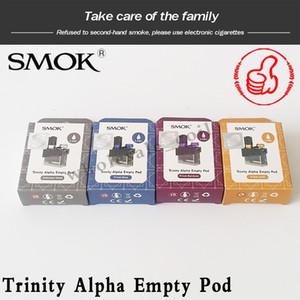 SMOK Trinity Alpha Pod cartucho de 2,8 ml Esvaziar Cartucho para Trinity Alpha Compact Battery com Nord malha Nord MTL bobina 100% Original