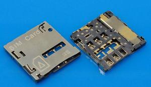 30pcs connecteur pour Samsung S3 I9300 I9305 S4 I9505 I9500 NOTE2 N7100 N7105 lecteur de carte sim titulaire du support de plateau