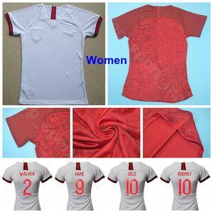 Harry Kane Mulheres Jersey 2019 Lady STERLING ALLI WALKER BARKLEY HENDERSON Trippier MAGUIRE Menina do futebol shirt Kits Mulher Uniforme