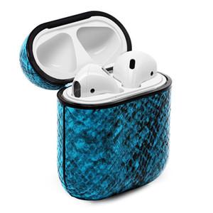 Cuir PU AirPod Case Protecteur Mode Anti Perdu Crochet fermoir porte-clés pour gousses d'Apple Air AirPod cas de téléphone portable