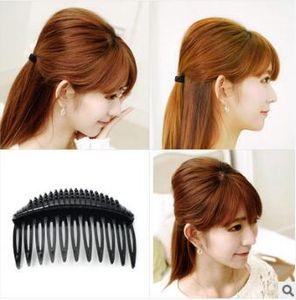 Preto / Brown Multifuncional DIY Bang Cabelo Mat Plastic Forks Princesa Hair Care Styling Tools Acessórios Para o Cabelo HA063