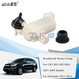 ZUK Brand New стеклоомыватель мотор для HONDA CRV RE1 RE2 RE4 2007-2009 Для MITSUBISHI OUTLANDER 2011-2015 стеклоочистителя ветрового стекла насоса омывателя