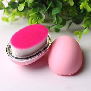 Egg Makeup Brush Big Powder Foundation Eyeshadow Eyeliner Cosmetics Make Up Tool أساسيات الجمال Soft Hair Makeup Brush Brush