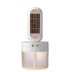 Neue Multifunktions-Mini Usb Befeuchtungsventilators Kühl Beauty Feuchtigkeitsspendende Auto Spray Befeuchtung Kopf schüttelt Kleinen Fan