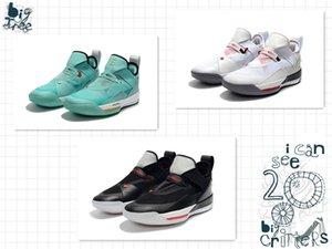 33 Low SE Guo Ailun Chinesisches Schreiben Türkis Gold Weiß Gymnastik Rot Herren Basketballschuhe Deisgner Sneakers 33 SE Black Cement Mens Trainer