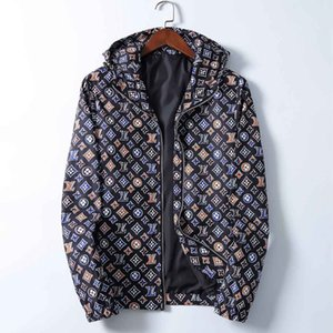 Top Quality Men Jackets Zippers Hooded Jackets Men Women Luxury Windbreaker Designer Fashion Casual Mens Jackets Coats