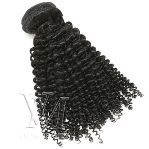 Vmae 12A Mongolian Indian Malaysian Hair Jerry Curly 10 to 26 inch Natural Color 100% Unprocessed virgin Hair Human Hair Extension