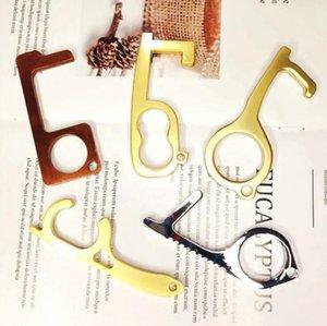 Non Contact Fahrstuhl Schlüsselanhänger-Tür-Öffner-Schlüsselring HandKeychain Werkzeug für Presse Aufzug 300pcs OOA7954