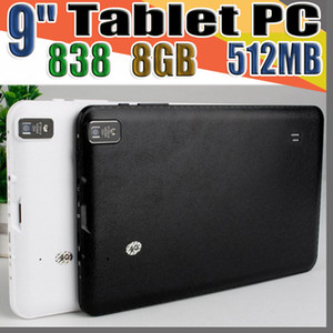 """838 9 9"""" Inch Quad Core Android 4.4 Tablet PC Actions Dual Camera 512MB 8GB Capacitive Touch Screen 1.2GHZ WIFI Allwinner A33 B-9PB"""