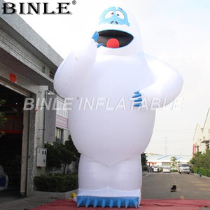 Горячая распродажа гигантский надувной снежный монстр большой надувной Шмель отвратительный снеговик для наружного украшения