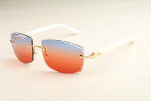 2019 새 공장 직접 고급 패션 초경량 선글라스 3524015 자연 색상 아즈텍 선글라스 조각 렌즈