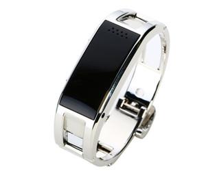 Montre Bluetooth Smart J8 Caméra Fitness Tracker Rappel en acier inoxydable Wearable Bracelet pour Android iOS iPhone Smart Wristwatch