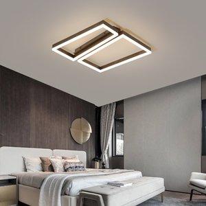Nordic Современные светодиодные потолочные лампы для LivingRoom Светильники спальни plafonnier светодиодные лампы потолок AC110V 220V привели Techo потолочные светильники