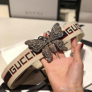 2019 nueva manera de marcas de alta calidad cinturones de diseño vestido de los hombres cinturones cinturones de estilos Cummerbund Para los hombres de las mujeres hebilla de metal con una caja