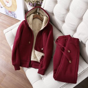 's Clothing Autumn Winter Sweatshirt Women Plus Velvet Oversized Hoodies Jacket Long Sleeve Sweatshirt Sportswear Warm Women's Hoodies Z64