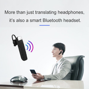 Traducteur sans fil 20 multi-langues Voice Translator Translator Intelligent instantanée Traduction casque sans fil Bluetooth Traduction