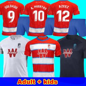 الرجال + الاطفال 2019 2020 لكرة القدم بالقميص غرناطة 19 20 غرناطة CF المنزل بعيدا الثالثة سولدادو هيريرا أنتونيو بويرتا قمصان كرة القدم