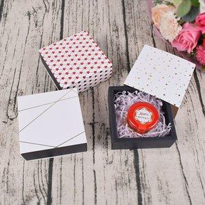Quadratische Pull-Out-Schublade geformte Geschenkbox Valentinstag-Schokoladenschachtel-Hochzeits-Favorit Verpackungsfall