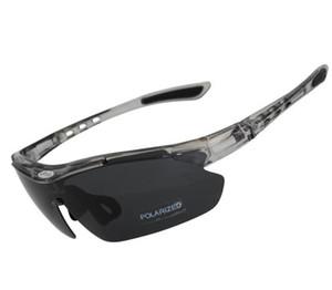 Günstige 3 Linsen polarisiert Outdoor-Sport-UV400 Fahrradbrille für Männer Frauen wind- und kurzsichtig Sonnenbrille Radfahren Protektoren Eyewears