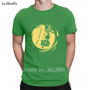 Criatura de la letra T Shirt Hombre The Punch caballero Hombres camiseta de moda para los hombres O-Cuello loco