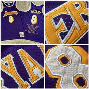 Men LosAngelesLakersKobeBryantMitchell & Ness 1998 All-star Hardwoods Classics Player Jersey