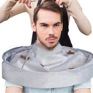 Moda elegante impermeable Paraguas Peluquería Capa salón del corte del pelo del ajuste de la cubierta del corte de pelo de herramientas delantal