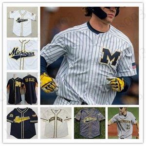 NCAA kolej beyzbol Jersey Custom türlü isim 10 numara Kamera Hart Matthew Schmidt erkek kadın gençlik çocuk S-4XL dikişli