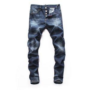 2019 новый бренд модных европейских и американских мужских повседневных джинсов, качественная стирка, чистая ручная шлифовка, оптимизация качества 9016